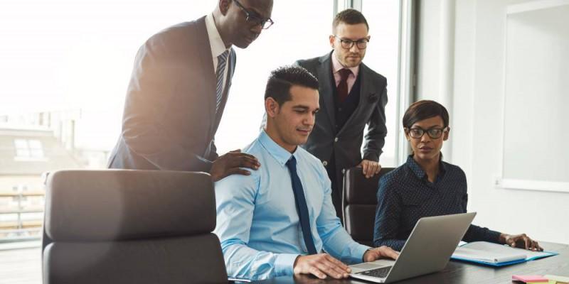 service financier d'une entreprise en réunion
