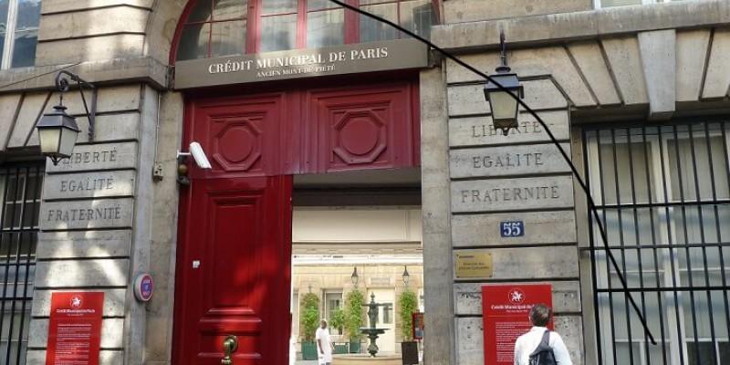 regroupement prets et credit municipal de paris